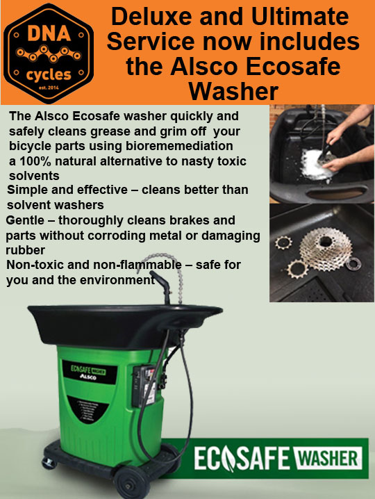 Thoroughly Clean your bike with Ecowash
