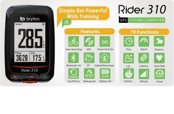 Bryton Rider 310 GPS Computer