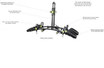 Buzz Rack Buzzybee Hitch Platform Bike Carrier