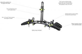 Buzz Rack Buzzybee Hitch Platform Bike Carrier
