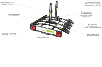 BUZZYBEE 4 – TOW BALL – PLATFORM BIKE CARRIER