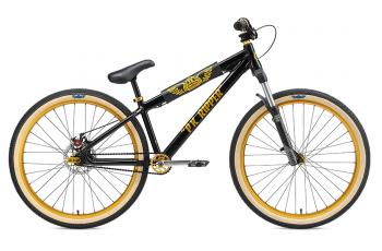 "2019 SE Bikes DJ Ripper 26"" Retro BMX Bike Black"