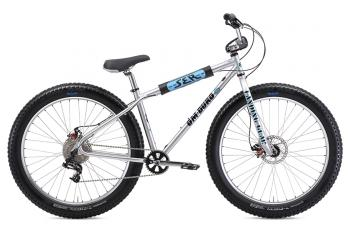 2019 SE Bikes Beast Mode 27.5+ BMX Bike Retro Silver